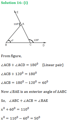 RS Aggarwal Class 9 Chapter 8 Solution